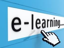 imagen de cubo de rubric formando la palabra e-learning